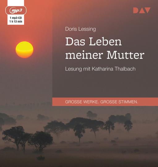 Doris Lessing. Das Leben meiner Mutter. mp3-CD.