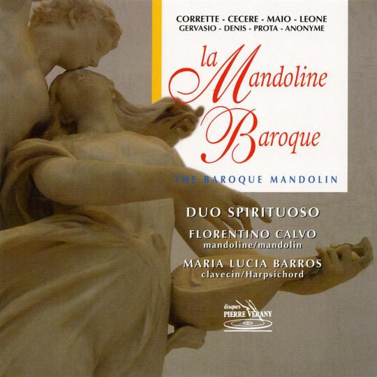 Duo Spirituoso. The Baroque Mandolin. CD.