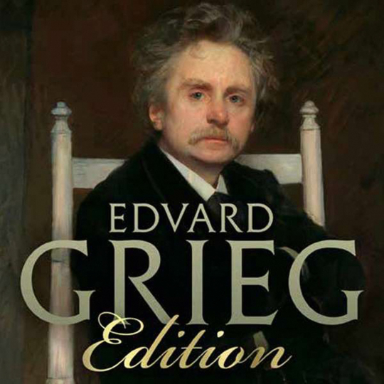 Edvard Grieg. Edvard Grieg Edition. 25 CDs.