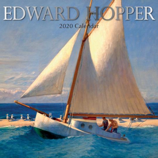 Edward Hopper Wandkalender 2020.