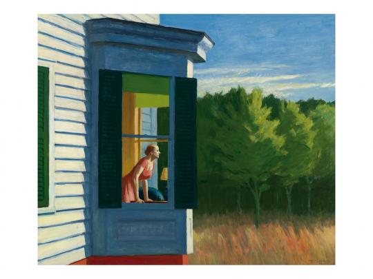 Edward Hopper. Morgen in Cape Cod. 1950.
