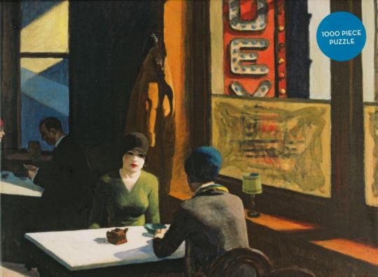 Edward Hopper. Motiv »Chop Suey«. Puzzle.