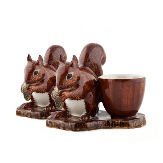 Eierbecher »Eichhörnchen«, 2er-Set.