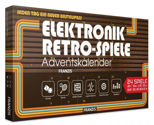 Elektronik Retro Spiele Adventskalender 2019.