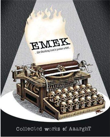 Emek. Thinking Man's Poster Artist. Gesammelte Werke.