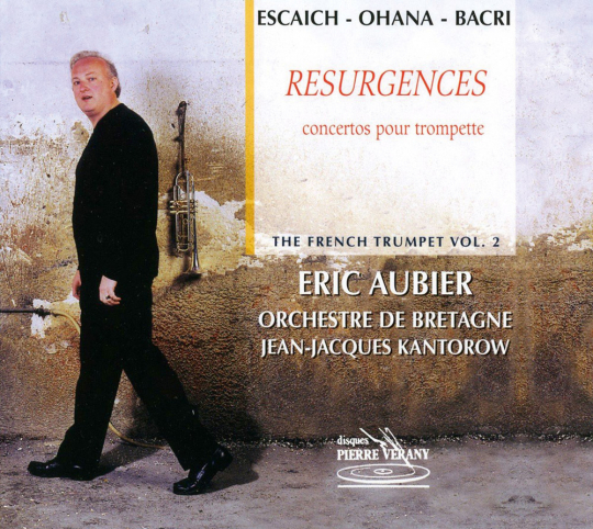Eric Aubier. Resurgences - Trompetenkonzerte. CD.
