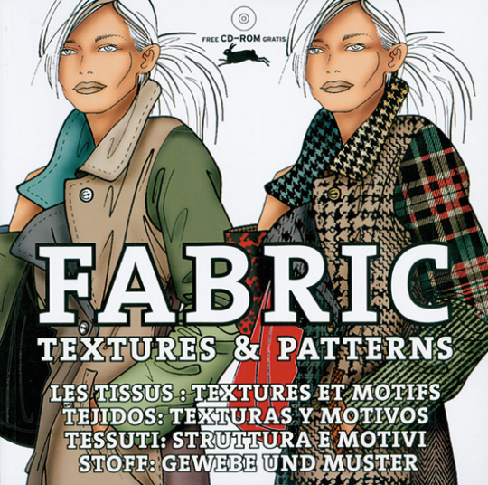 Fabric. Textures and Patterns. Buch + CD-ROM.