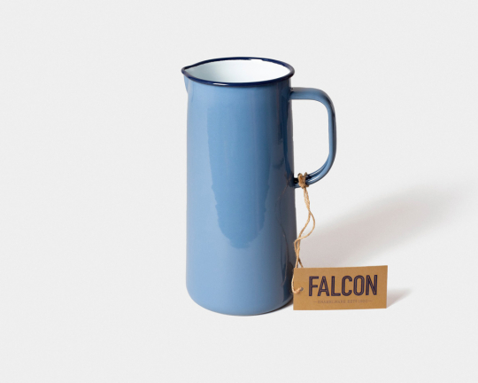 Falcon Emaille-Karaffe, himmelblau.