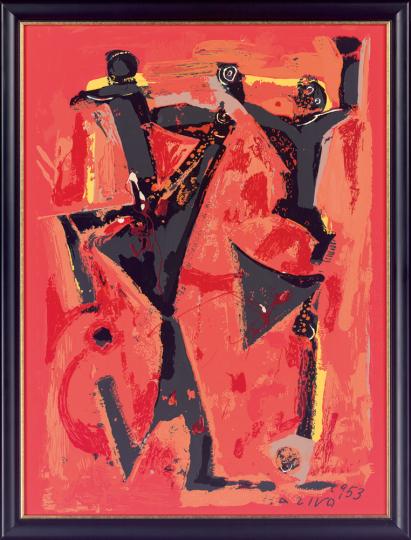 Figure Colorate. Marino Marini (1901-1980).
