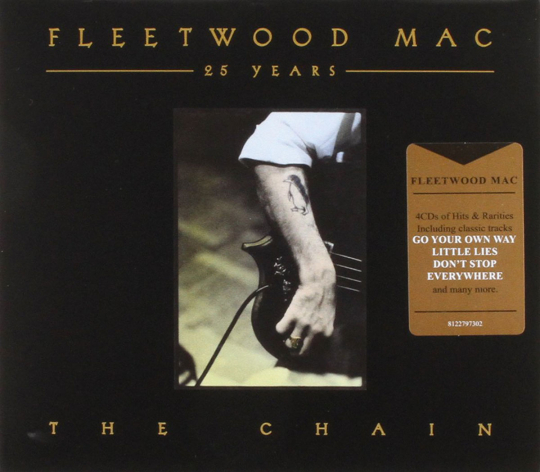 Fleetwood Mac. 25 Years - The Chain. 4 CDs.