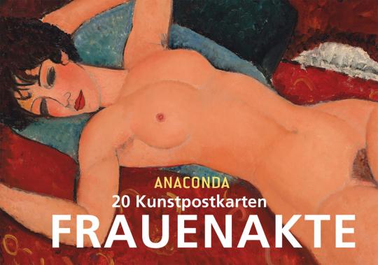Frauenakte. 20 Kunstpostkarten.
