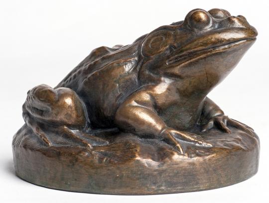 Froschgewicht. USA, um 1875.