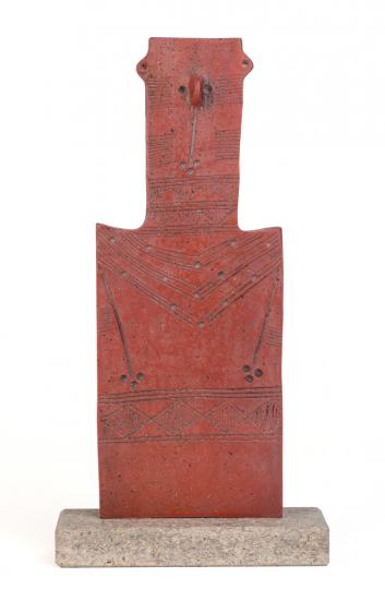 Fruchtbarkeitsidol. Zypern, Bronzezeit.