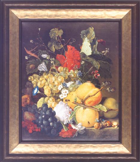 Früchte, Blumen und Insekten. Jan van Huysum (1682-1749).