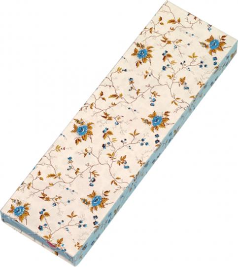 Gefährlich schön Bleistifte in Geschenkschachtel. Motiv Blaue Rose. 6 Bleistifte mit Radiergummi, 3 Motive.