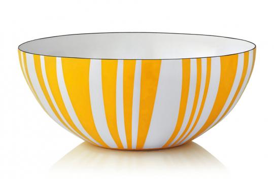 Gelbe Salatschüssel.