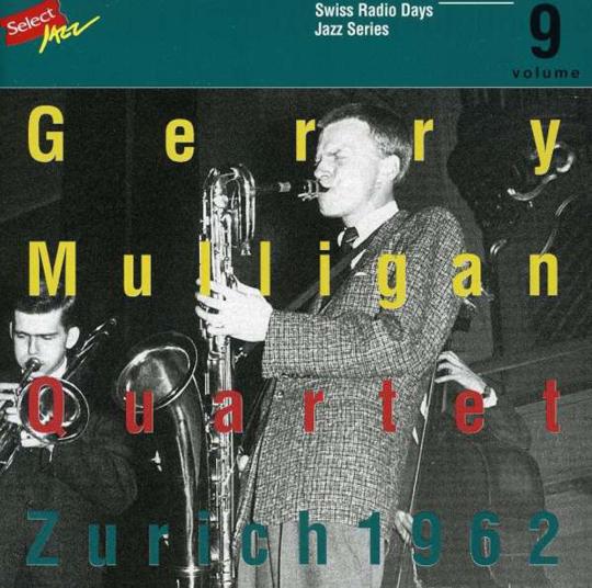 Gerry Mulligan. Zürich 1962. CD.
