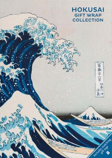 Geschenkpapier-Buch »Hokusai«.