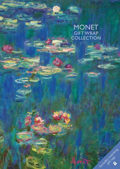 Geschenkpapier-Buch »Monet«.