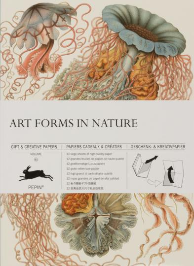 Geschenkpapier Kunstformen der Natur.