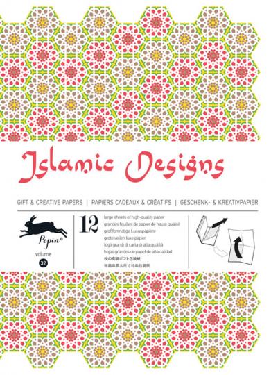 Geschenkpapierbuch »Islamic Designs«.