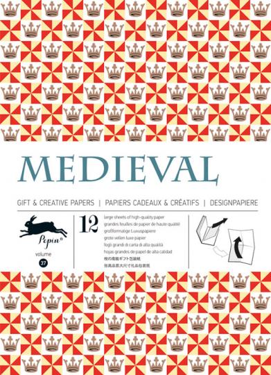 Geschenkpapierbuch »Medevial«.