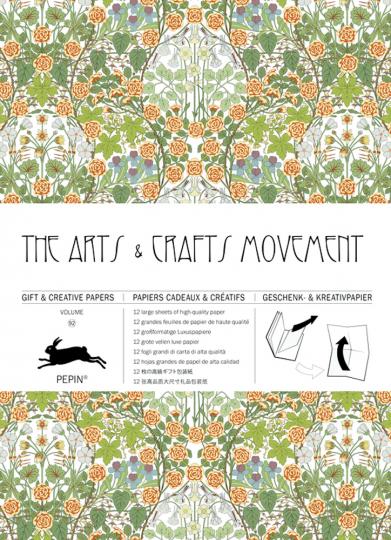 Geschenkpapier »The Arts & Crafts Movement«.