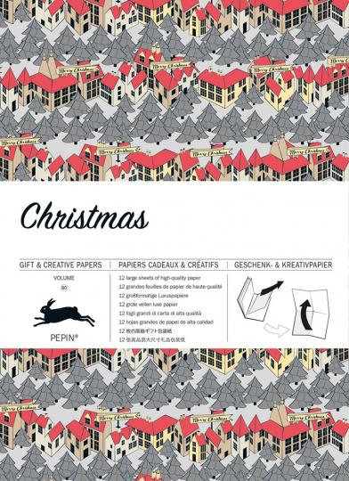 Geschenkpapier »Weihnachten«.