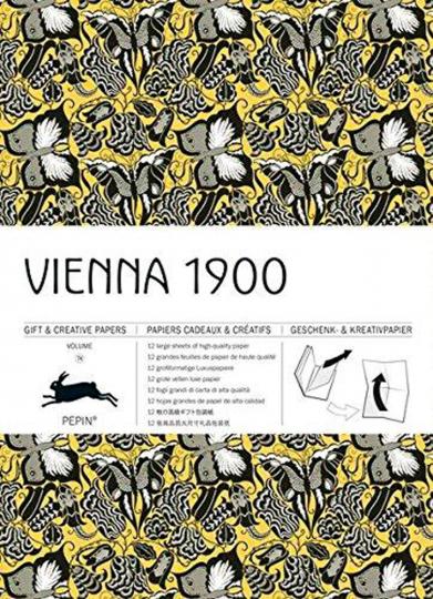 Geschenkpapier »Wien 1900«.