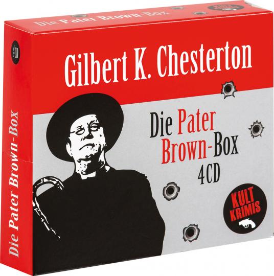 Gilbert K. Chesterton. Die große Pater Brown-Box. 4 CDs.