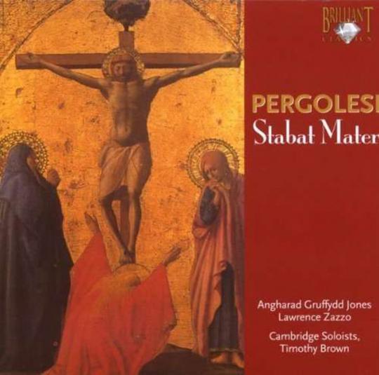 Giovanni Battista Pergolesi. Stabat Mater. CD.