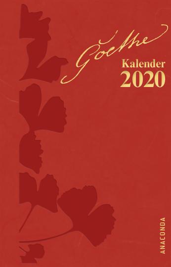 Goethe Kalender 2020. Taschenkalender.