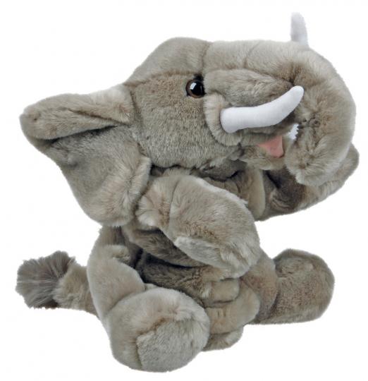 Handpuppe Elefant.