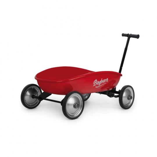 Handwagen für Kinder, rot.