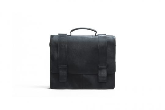 Harold's Aktentasche, schwarz.