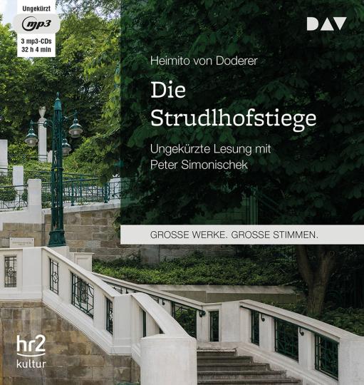 Heimito von Doderer. Die Strudlhofstiege. 3 mp3-CDs.