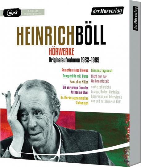 Heinrich Böll. Hörwerke. Originalaufnahmen 1952-1985. 5 mp3-CDs.