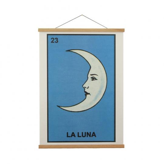 Holzleiste für Poster.