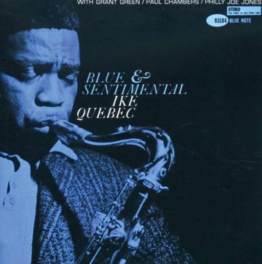 Ike Quebec. Blue & Sentimental (Rudy Van Gelder Remasters). CD.