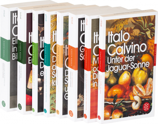 Italo Calvino. 8 Bände im Paket.