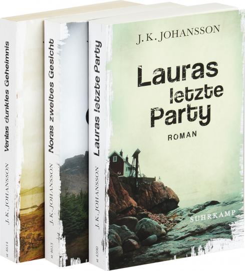 J.K. Johansson. Lauras letzte Party. Noras zweites Gesicht. Venlas dunkles Geheimnis. 3 Bände im Paket.