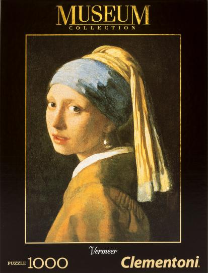 Jan Vermeer. »Das Mädchen mit dem Perlenohrring«. Puzzle 1000 Teile.