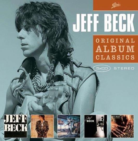 Jeff Beck. Original Album Classics II. 5 CDs.