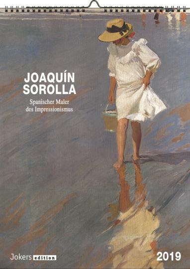 Joaquín Sorolla Kalender 2019.