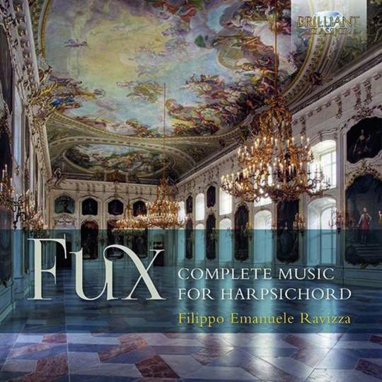 Johann Joseph Fux. Sämtliche Werke für Cembalo. 2 CDs.