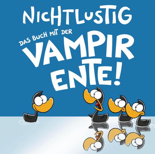 Joscha Sauer. Das Buch mit der Vampirente. Cartoons.