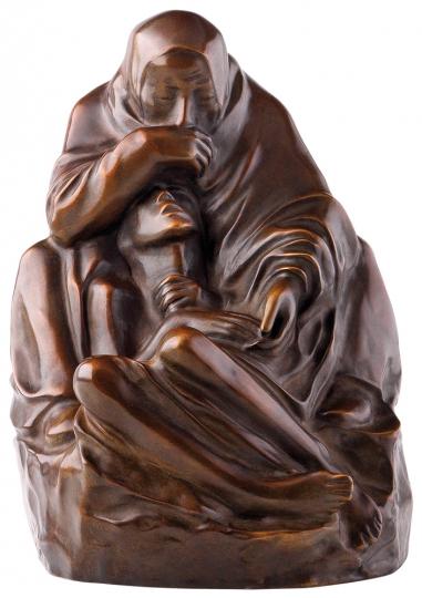 Käthe Kollwitz. Skulptur Pietà (1938/39).