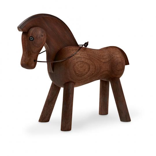 Kay Bojesen Holzfigur »Pferd, dunkel«.