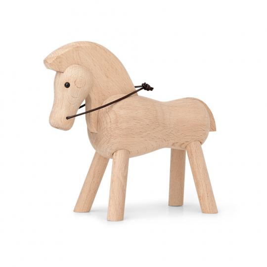 Kay Bojesen Holzfigur »Pferd, hell«.