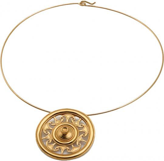 Keltische Scheibenfibel, um 500 v. Chr.